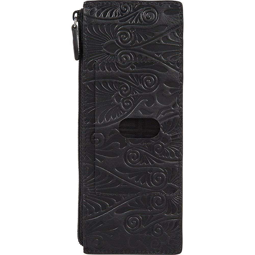 Lodis Denia Cit Card Case with Zipper Pocket (Black, One Size) by Lodis (Image #3)