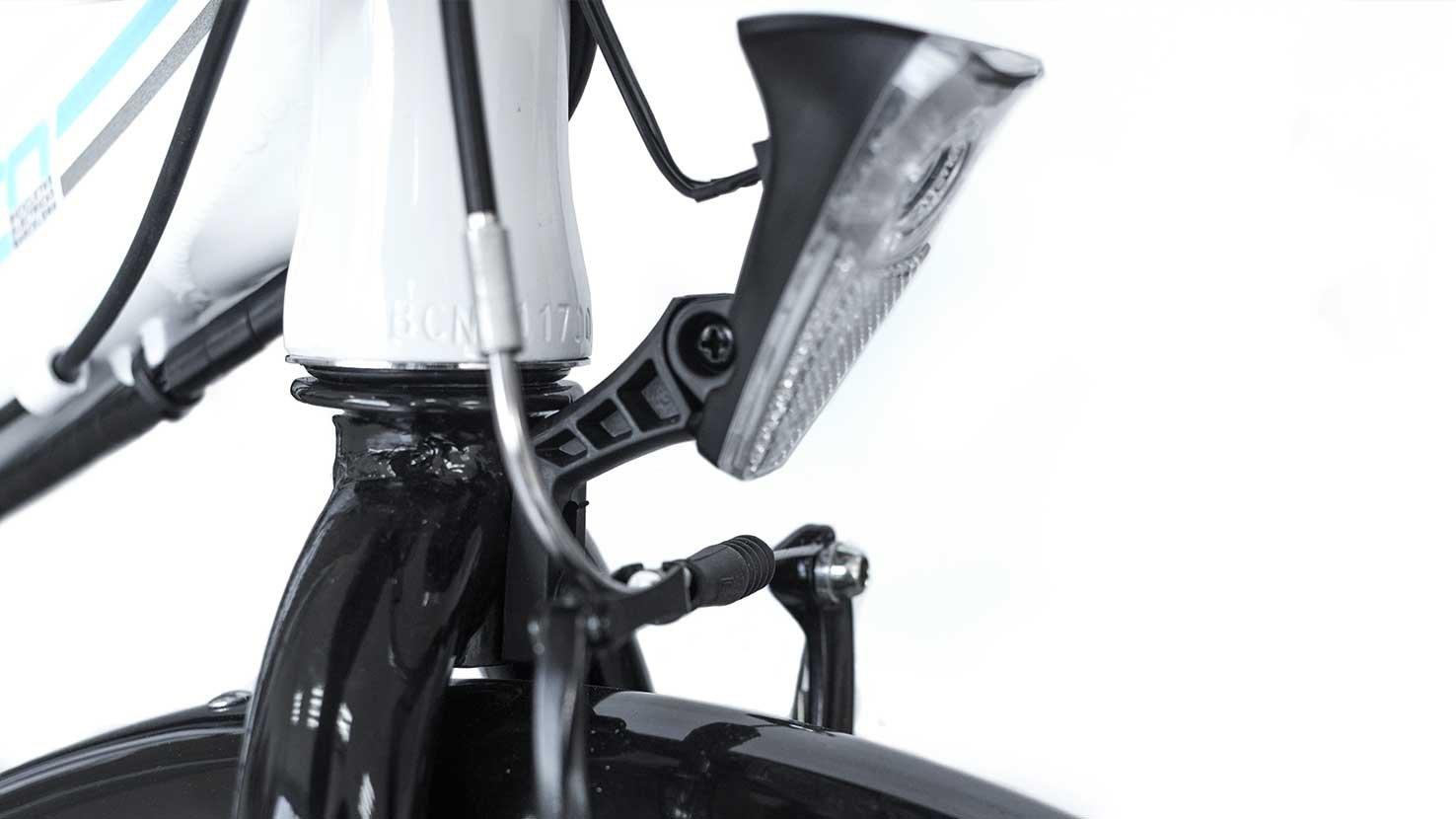 Legend eBikes BCN Bicicleta eléctrica Plegable, Unisex Adulto, Blanco, Talla Única: Amazon.es: Deportes y aire libre