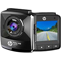 "HP Dash Cam For Cars Full HD 1080P DVR Vehicle Dashboard Camera Recorder,2.4"" LCD,G-Sensor, Night Vision, WDR, Parking Guard, Loop Recording,Invisible"