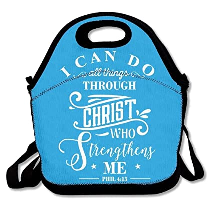 2ecd79625d91 Amazon.com: I Can Do All Things Through Christ Who Strengthens Me ...