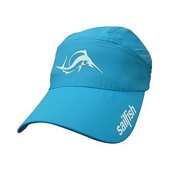 Sailfish Running - Gorra para correr azul azul: Amazon.es: Deportes y aire libre