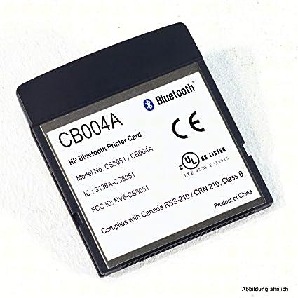 HP CB004A - Tarjeta de Memoria Compact Flash con Bluetooth para ...