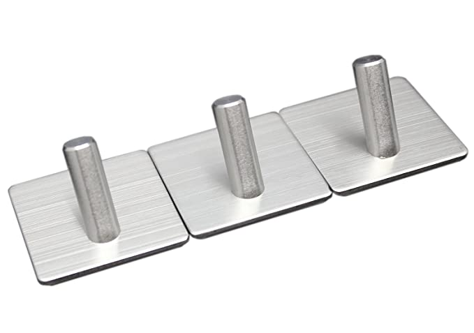 Amazon.com: wilifdom ganchos adhesivos -6 Pack Heavy Duty ...