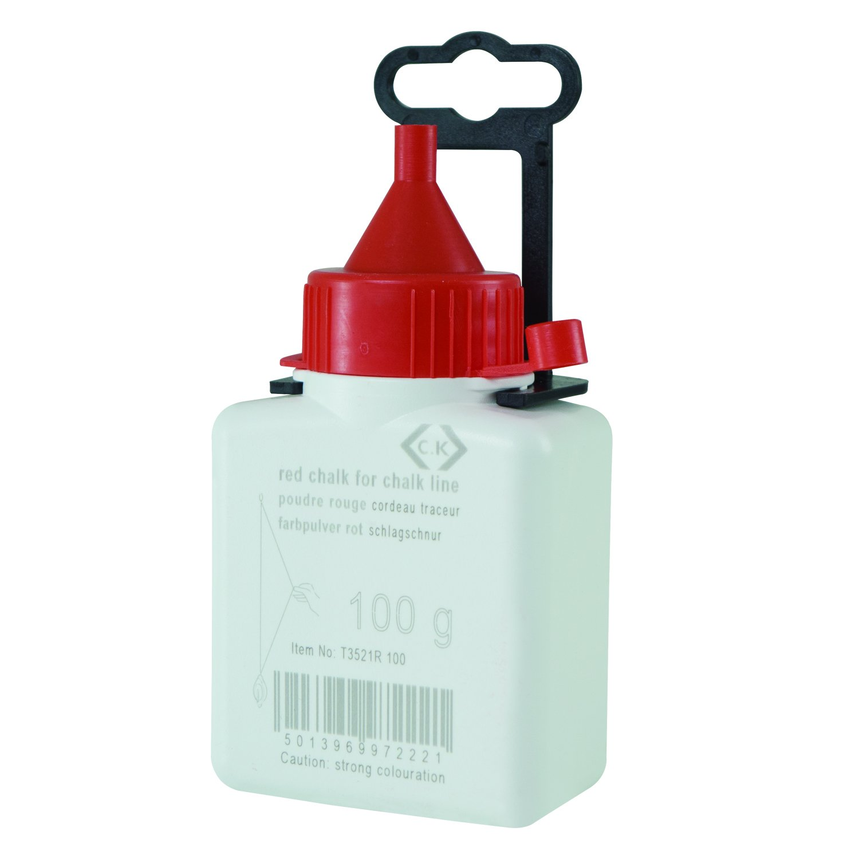 C.K T3521R 100 100 g Chalk Powder - Red