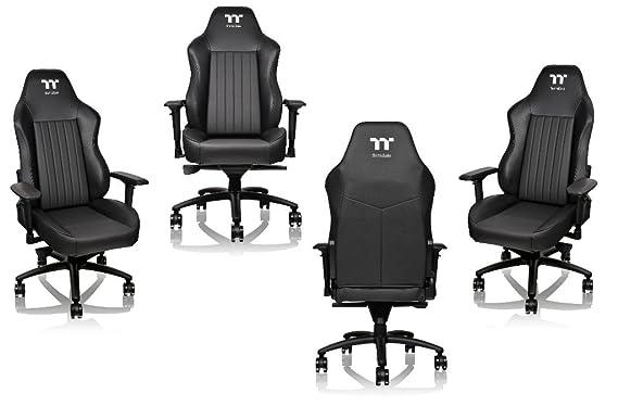 TT Esports X-Comfort Premium 500 - Silla Gaming - Negra: Amazon.es: Hogar