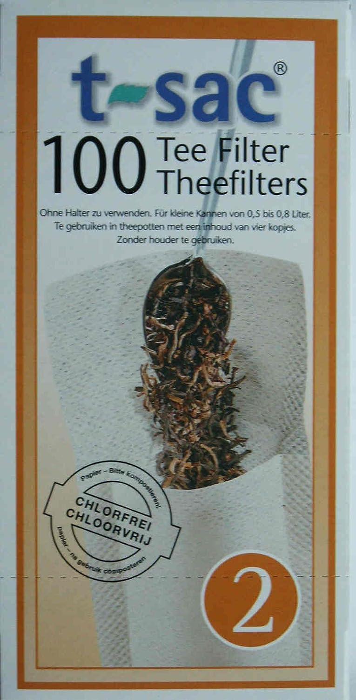 B009LQFR2U t-sac #2 loose tea filters - Bulk(1000 filters) 612BhGb2BLviL