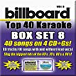 Billboard Top 40 Karaoke Box Set 8 [4 CD][40+40-Song Party Pack]