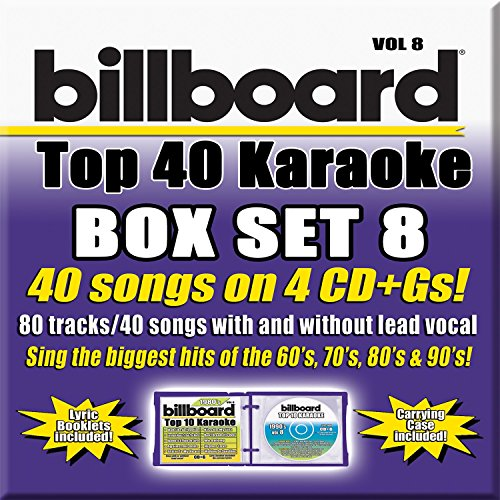 (Billboard Top 40 Karaoke Box Set 8 [4 CD][40+40-Song Party Pack])