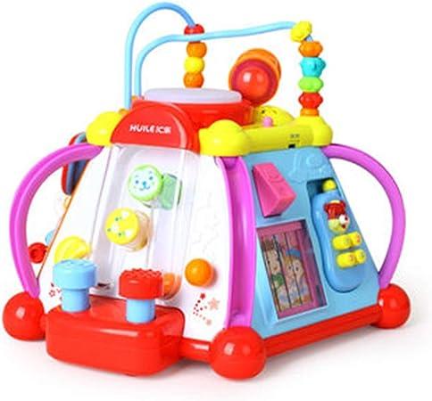 Cajas de música Mesa de juguetes para niños Mesa de juegos de rompecabezas multifuncional Educación temprana