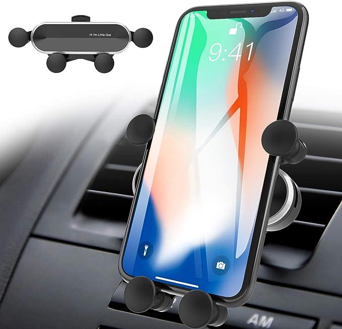 Auchiku Handyhalter Fürs Auto Handyhalterung Auto Schwerkraft Lüftung Autohalterung Kfz Handy Halter Für Iphone Samsung Huawei
