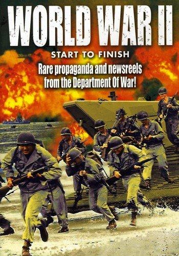 WWII - World War II Start to Finish: Bombing of U.S. / Panay / Hitting The Beach / MacArthur Liberates Manila / Freedom Comes High / Peace Comes to America
