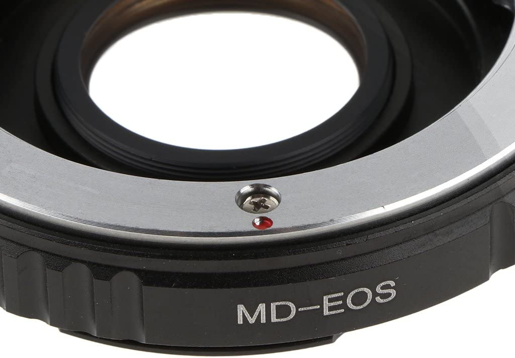 Adapter MD-EOS for Minolta MD Lens to Canon EOS Camera 700D 650D 600D 550D