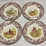 Spode Woodland Salad Plate 8'' Set of 4