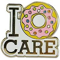 I Donut Care - Hard Enamel Pin (Cloisonne Pin)