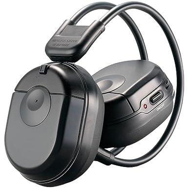 Power Acoustik HP-10S Single-channel IR inalámbrico auriculares plegables para niños