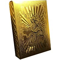Waterproof Poker Luxury Gold Foil Poker Playing Cards Classic Magic Tricks Tool Without Colorful Printing 1Set