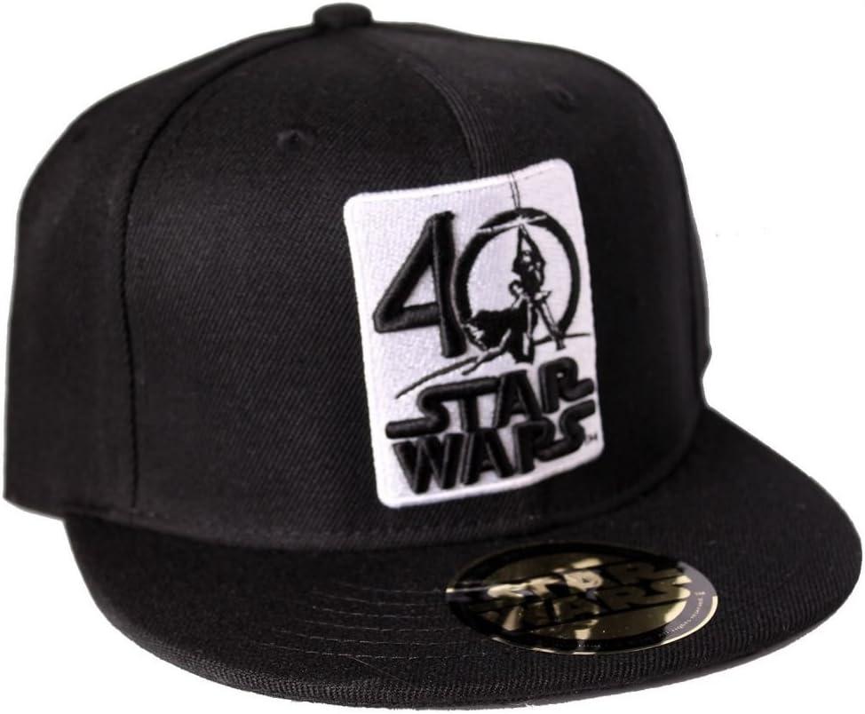 Gorra Star Wars Logo 40 Aniversario: Amazon.es: Deportes y aire libre