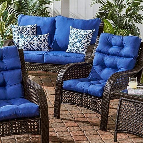 Greendale Home Fashions Indoor/Outdoor High Back Chair Cushion