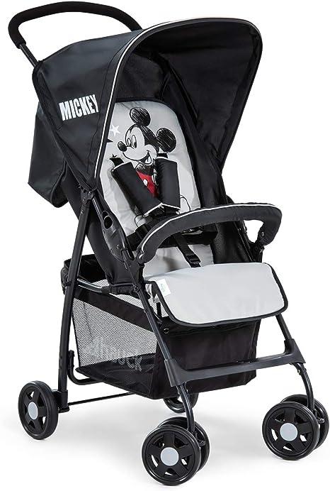 Opinión sobre Hauck Sport Silla de paseo ultra ligera de 5,9kg, sistema de arnés de 5 puntos, respaldo reclinable, plegable, para bebes de 6 meses a 15kg, negro