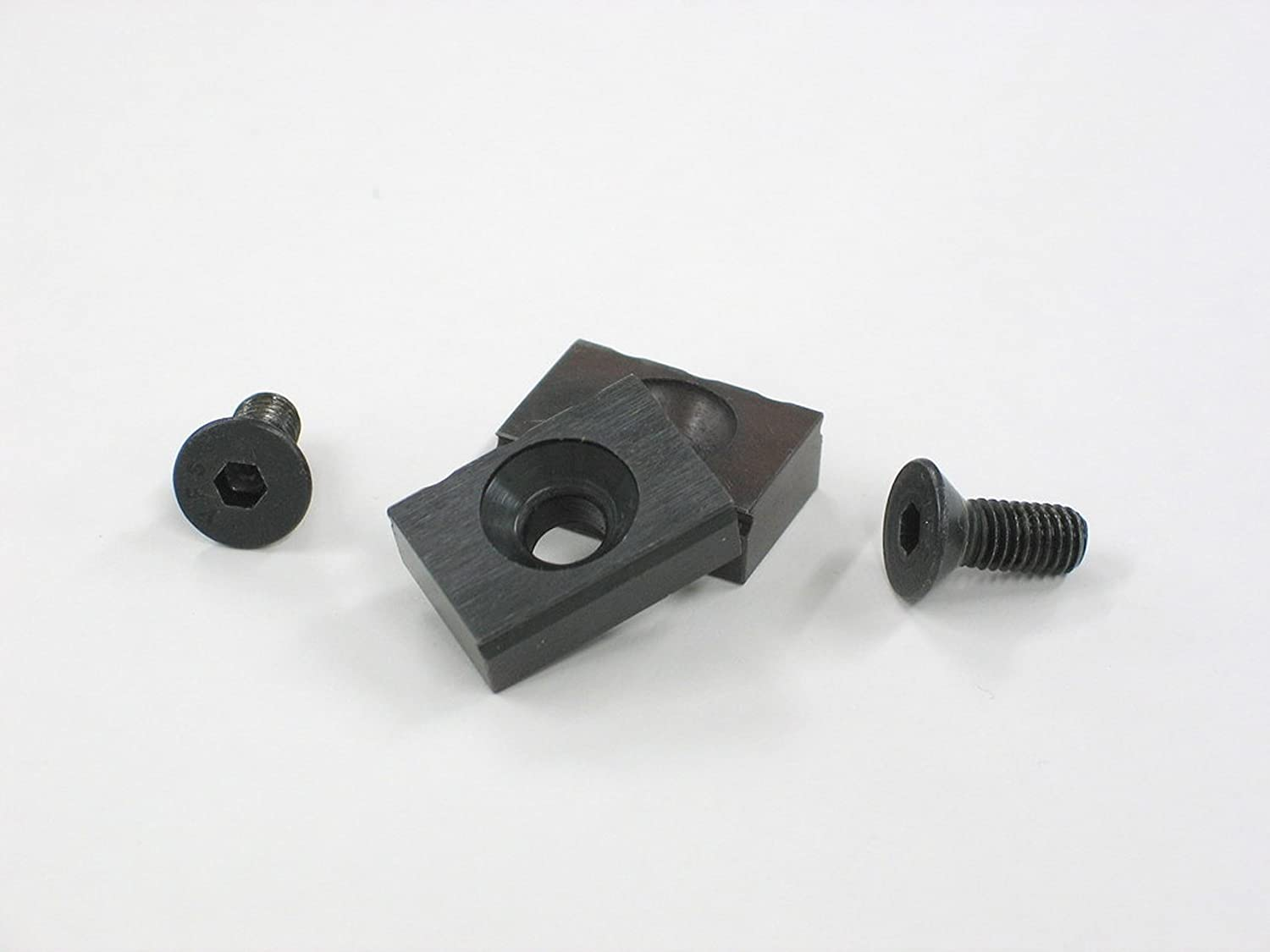 1//2in Mitee-Bite Products Vise Jaw Grips M5 Screw PK2-33050