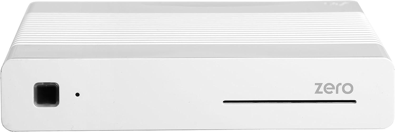 Vu+ Zero WE - Receptor de TV por satélite (Full HD, DVB-S2, HDMI), color blanco: Amazon.es: Electrónica
