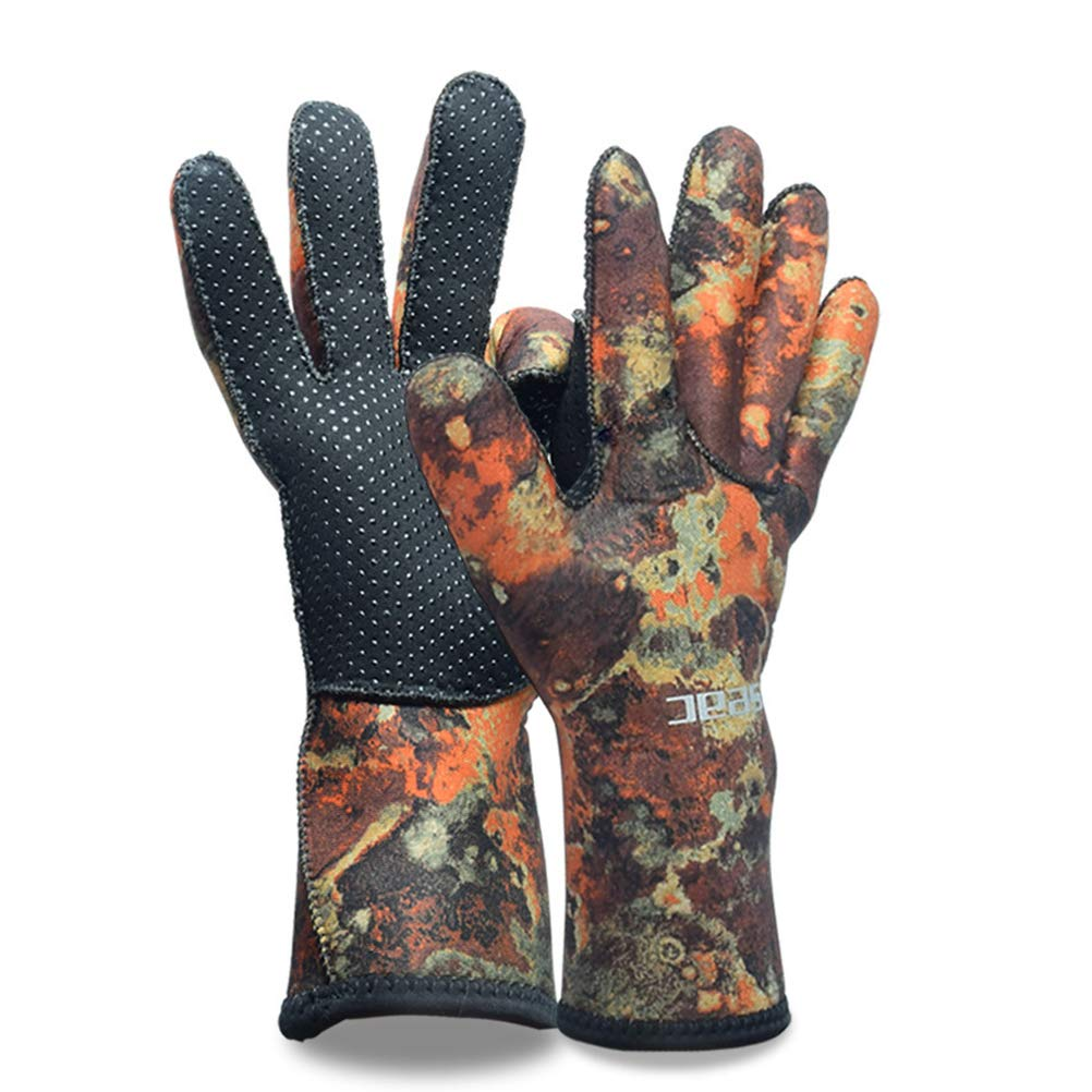 CHAGANA 3MM Neoprene Gloves Scuba Diving Gloves Wetsuit Dive Glove for Adult Kid
