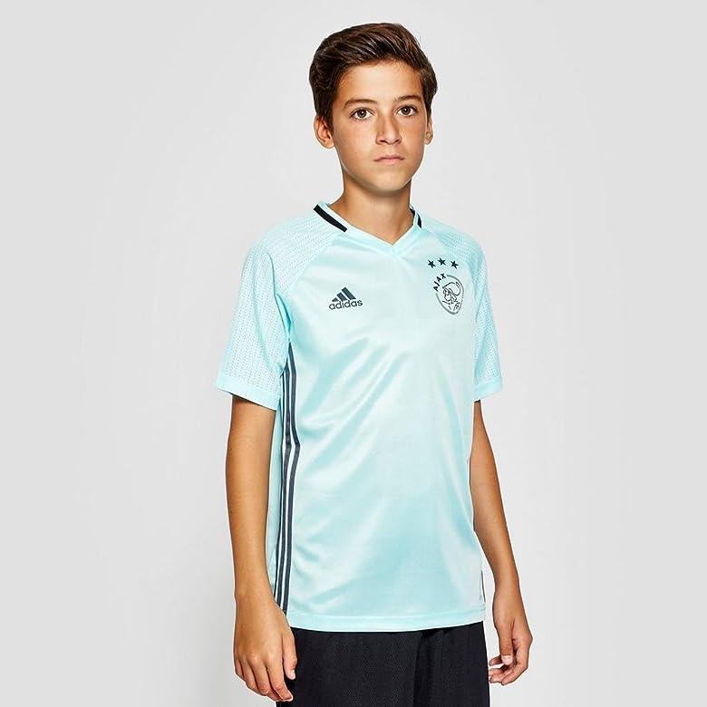 adidas AJAX TRG JSY Y Camiseta, Niños, Azul (Agucla/Onifue), 7-8 ...