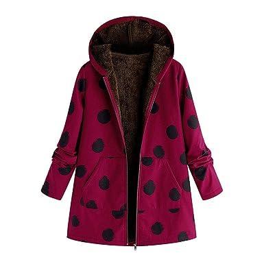 500ad010f Amazon.com: FRCOLT Fashion Women's Oversized Cotton Fluffy Fur ...