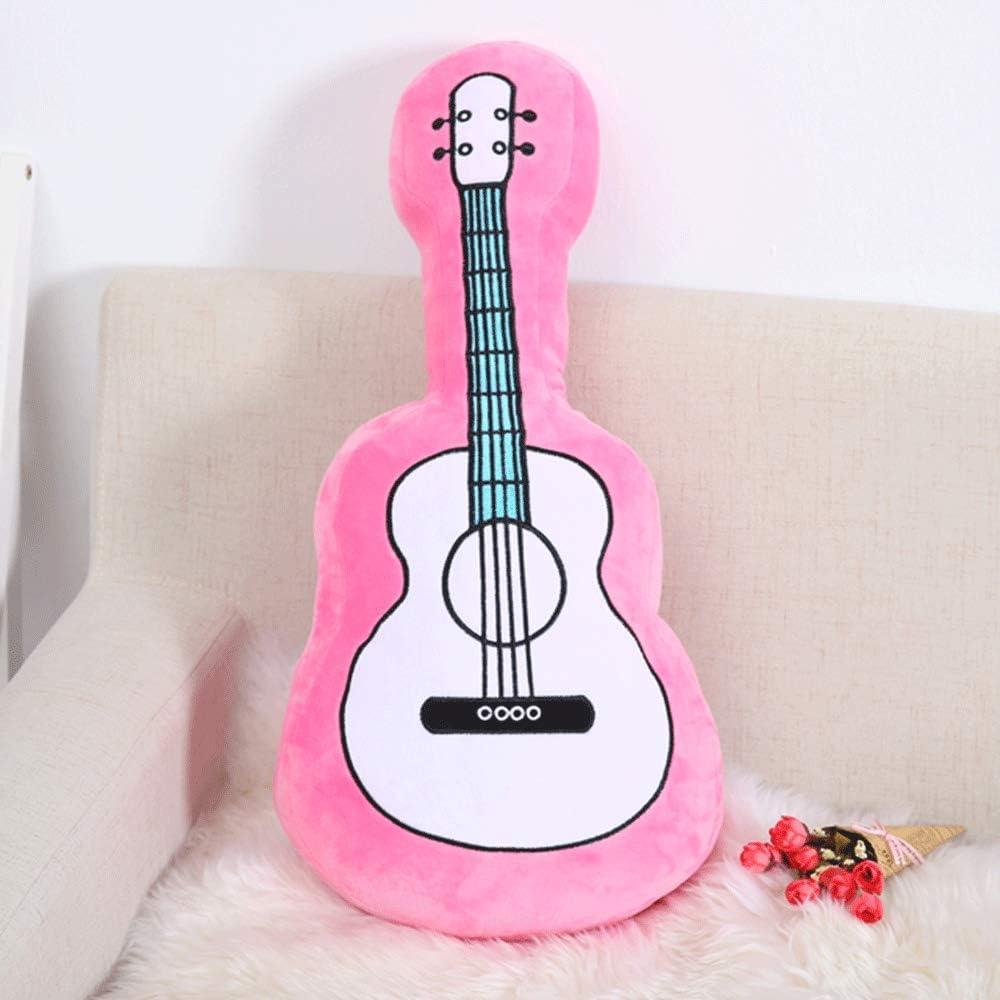 DOUFUZZ Guitarra de simulación Soft Peluches Almohada Muñeca ...