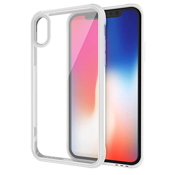 outlet store 356e6 1ccf9 Amazon.com: iPhone X Case, Eroilor [Ultra Hybrid] Air Cushion ...