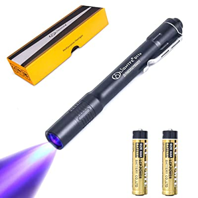 Ultrafire Ultraviolet LED High Power Zoomable Torch Inspection Light 395-405nm