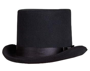 Il! Cappello a Cilindro in Simil Feltro Nero  Amazon.it  Prodotti ... 48e0a3b9e436
