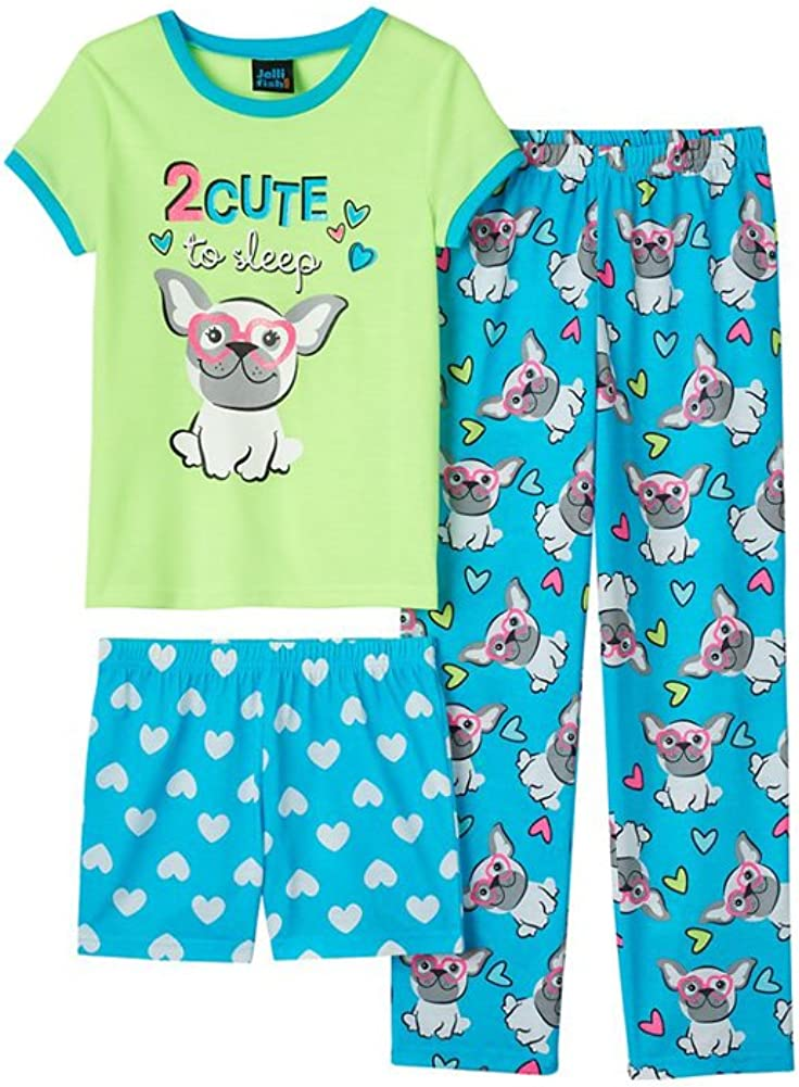 Jellifish Kids Girls 2-Pack Knit Sleep Gowns