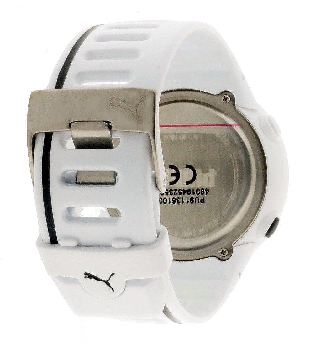 Amazon.com: Puma Cardiac 01 Digital Dial White Resin Mens Watch PU911361004U: Watches