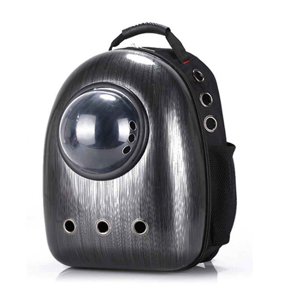 ba1db2f906fe Amazon.com   Jebblas pet Capsule Carrier Astronaut Pet Cat Dog Puppy  Carrier Travel Bag Space Capsule Backpack Breathable (Black)   Pet Supplies