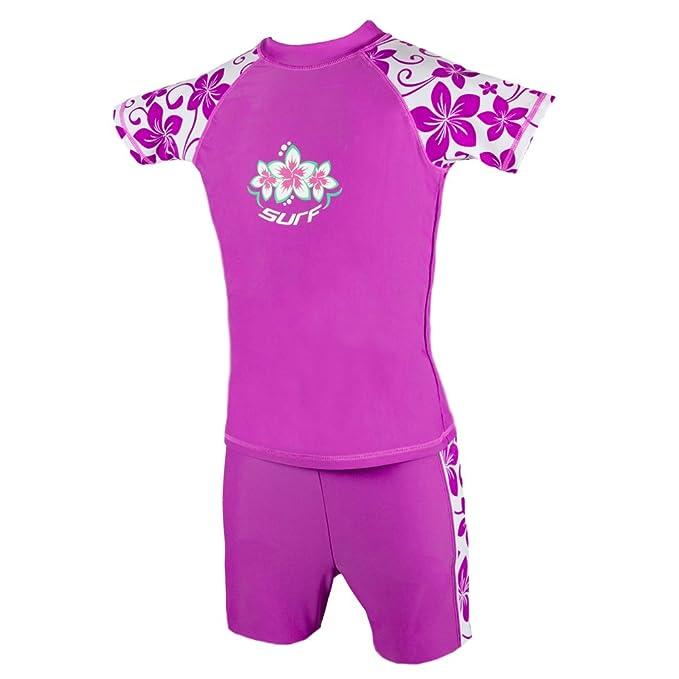 7-8 Boys UV Sun Protection Rash Vest and Swimming Trunks UPF 50+ 2-3 3-4 5-6 9-10 /& 11-12 years