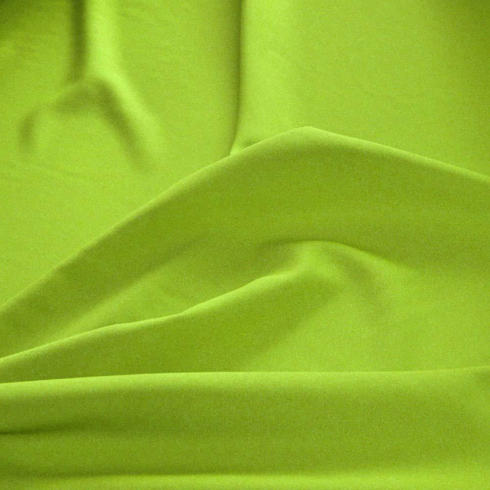 TOLKO Stoffe Orange Meterware am Stück Modestoff // Dekostoff universal Stoff ALLROUND knitterarm