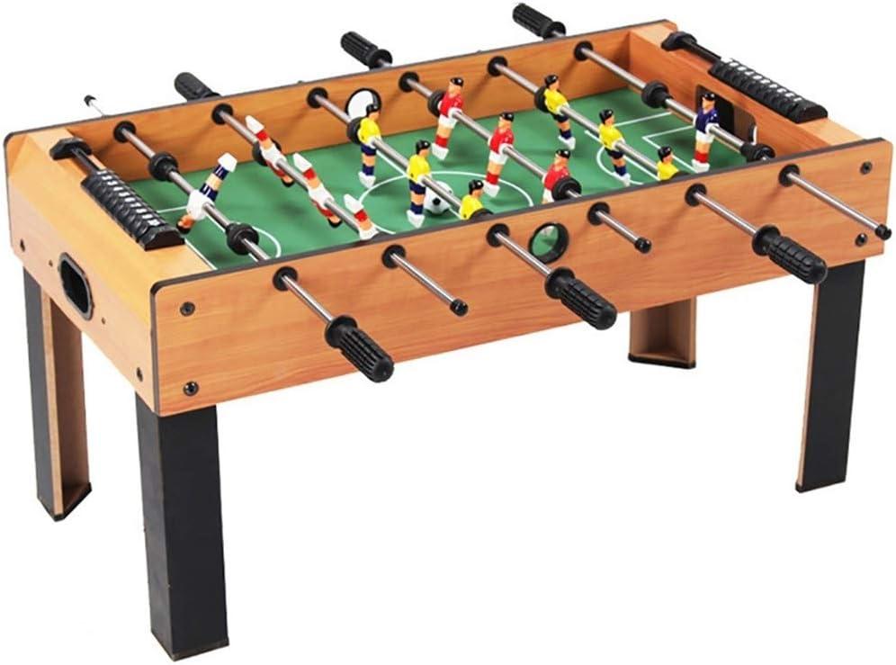 Futbolines Tabla del fútbol de los niños/Grande futbolín/foozeballs Bolas de Mesa/futbolín/Seis Polos futbolín/Mesa de Juego interacción (Color : Wood Color, Size : 81.5 * 42.5 * 42.5): Amazon.es: Hogar
