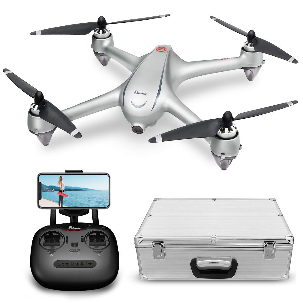 GPS FPV RC Drone, Potensic D80 with 1080P Camera Live Video