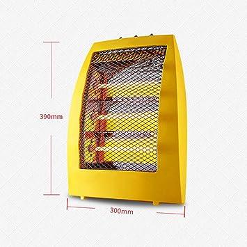 JJJJD Calentador eléctrico Calentador de Escritorio Estufa pequeña para Hornear Calentador de Cuarzo: Amazon.es: Hogar