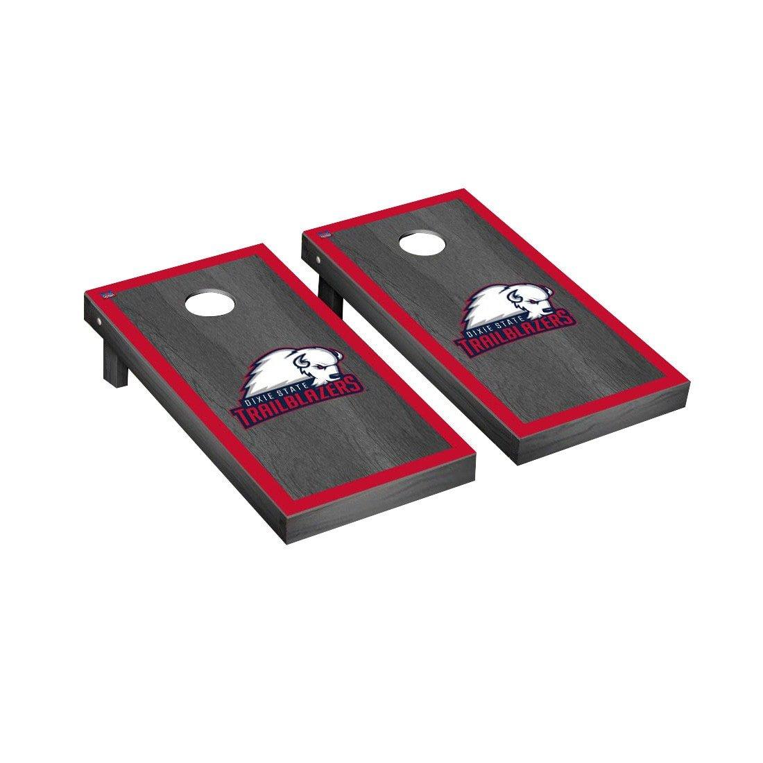 卸し売り購入 Dixie State Trailblazers Game Cornhole Game SetオニキスStained Borderバージョン State B0178MJILO B0178MJILO, 家具shop GfoReT:76ce3a61 --- arianechie.dominiotemporario.com