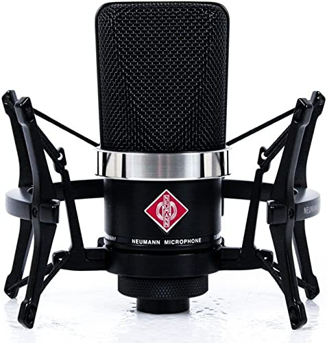 Neumann TLM 102 Black Cardioid Condenser Microphone Studio Set