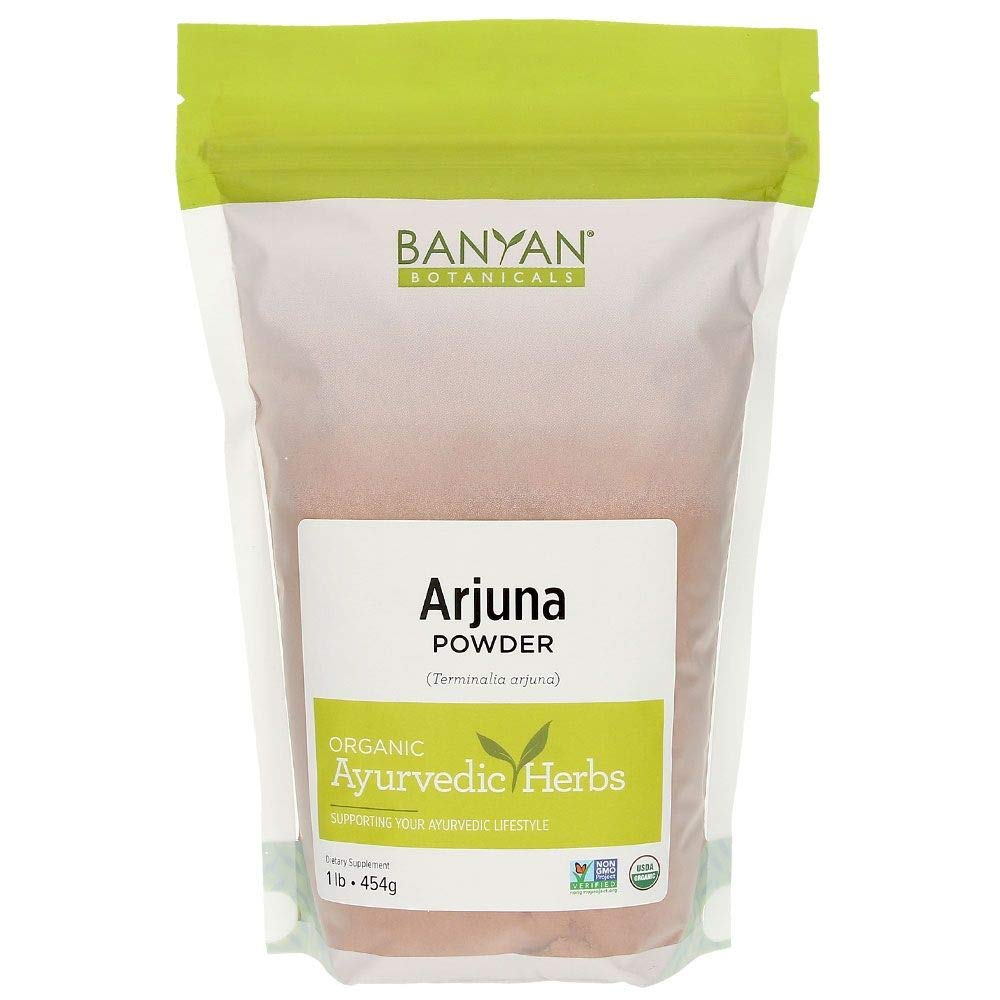 Banyan Botanicals Arjuna Powder - USDA Certified Organic - Terminalia arjuna - Ayurvedic Bark Powder for a Healthy Heart* by Banyan Botanicals