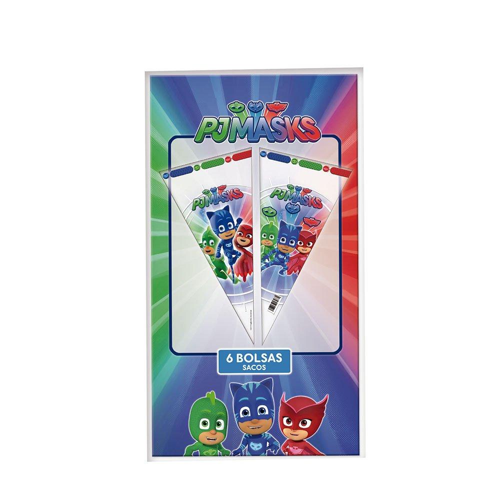 PJ Masks Bolsas Cono para decoración de Fiestas (Verbetena 016001304): Amazon.es: Juguetes y juegos