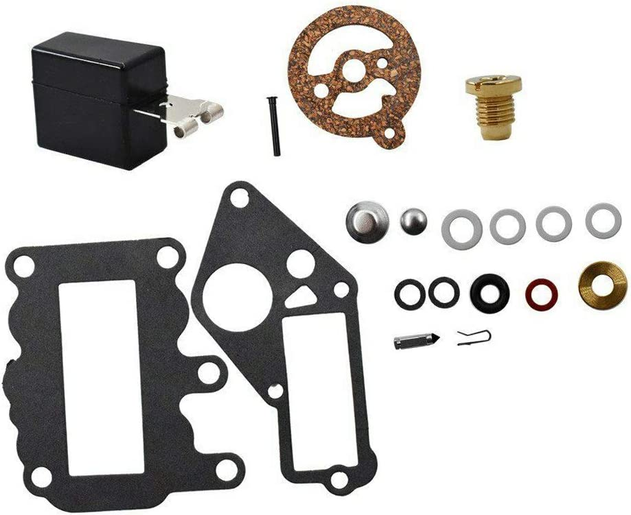 Aniro Moto Carburetor Carb Kit For Johnson Evinrude 9.5 HP 1964-1973 BRP OMC SysteMatched 382048