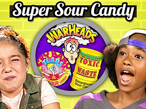Sour Candy Challenge | Kids Vs. Food
