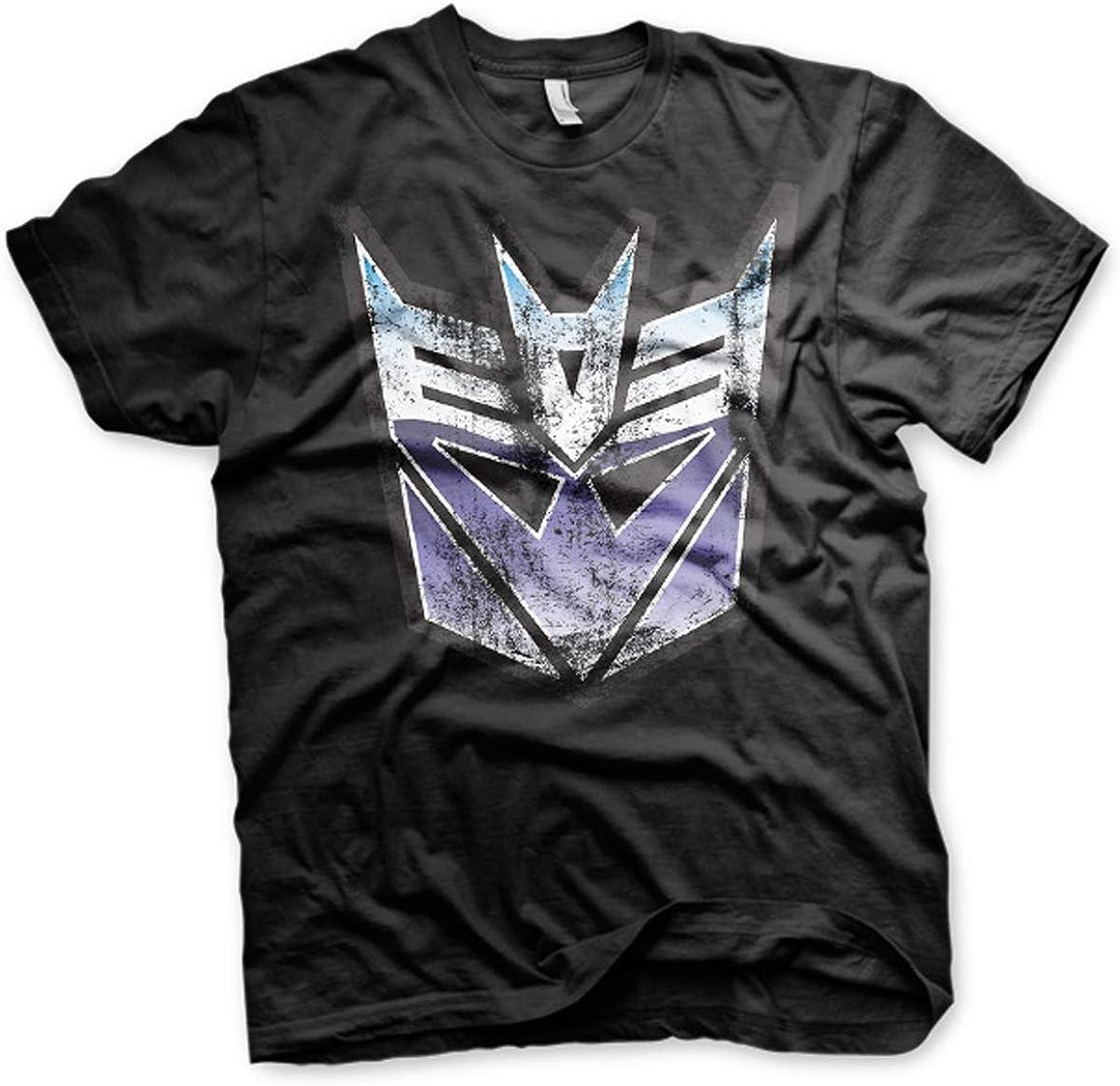 Transformers Megatron Decepticon Logo Official Tee T-Shirt Mens