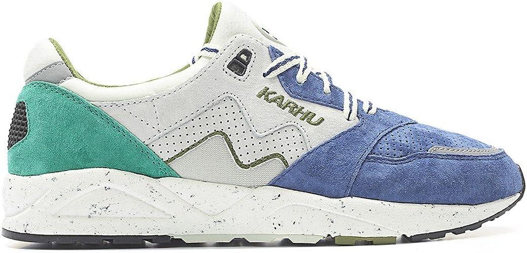 Karhu - Zapatillas de Ante para Hombre Verde Bosphorous/Foggy Dew Verde Size: 42: Amazon.es: Zapatos y complementos