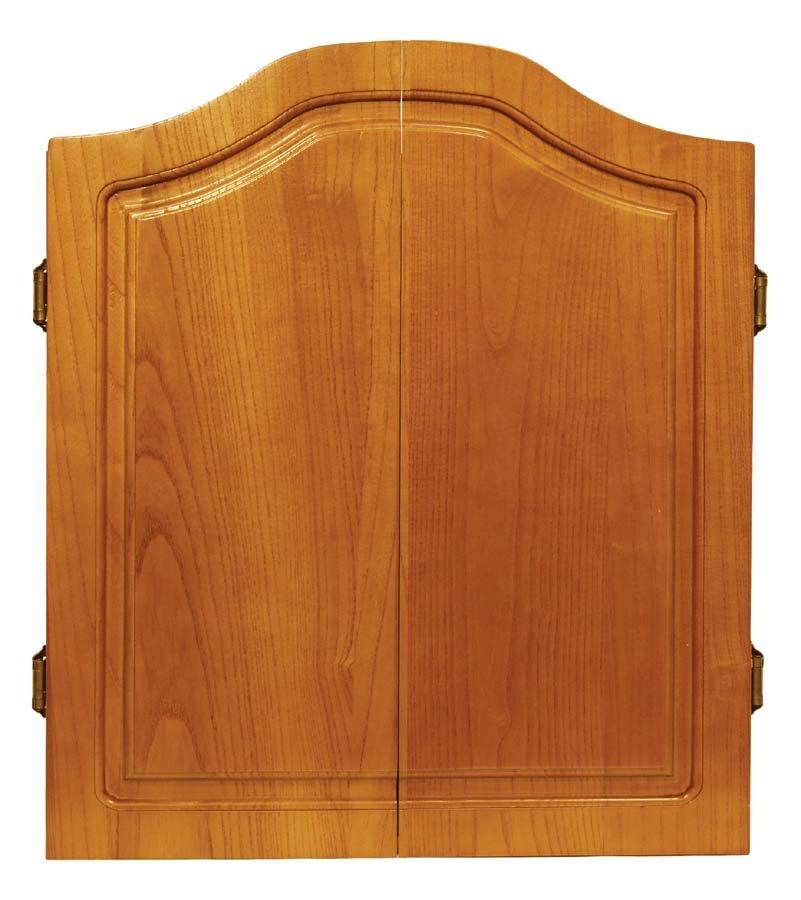 Verus Sports DMI Oak Solid Hardwood Dartboard Cabinet