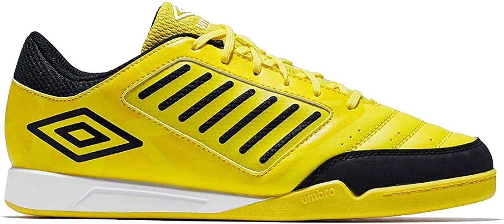 Umbro Chaleira Liga, Zapatillas de fútbol Sala para Hombre, Amarillo (Blazing Yellow/Black/White A6c), 40 EU: Amazon.es: Zapatos y complementos